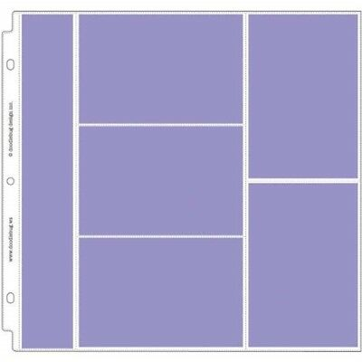 Doodlebug Design Combo Photo Protectors For Scrapbooking, 12 By 12-inch - Inch