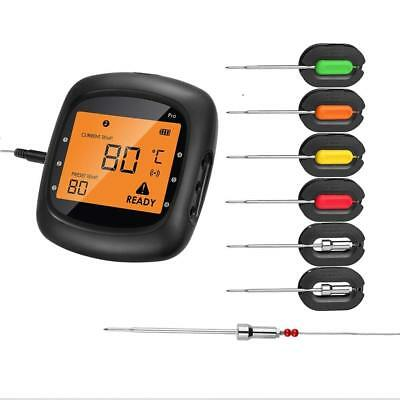 AidMax Wireless Meat Thermometer for Grill Smoker, Pro05, Digital Cooking Meat