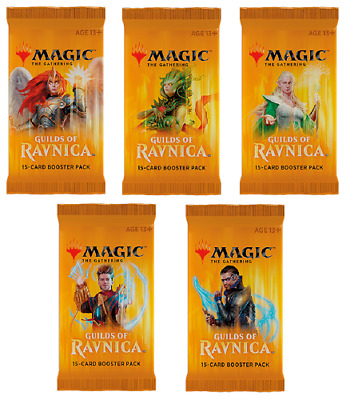 *Magic MtG - GUILDS OF RAVNICA - 10x Booster - English / OVP / Sealed