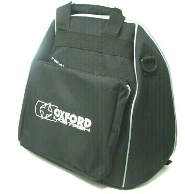 OXFORD Lidstash - Motorcycle Helmet Carry Bag - OL260 Black Padded Helmet Bag