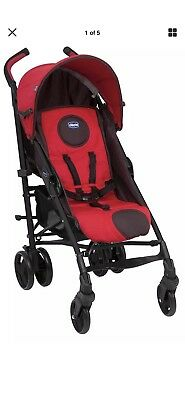 Chicco Liteway Plus Baby Pushchair-Red