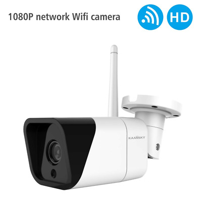K4 WiFi Security Camera HD1080P Waterproof IP with Motion Detection Night Vision