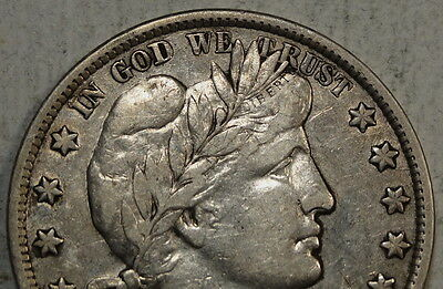 1901 Barber Half Dollar, Choice Very Fine, Sharp VF/EF With Luster    0806-30