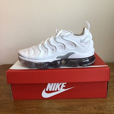 Nike Air Vapormax Plus 924453-102 Wolf Grey Pure Platinum White Size:7=Wmns 8.5