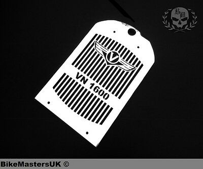 Kawasaki Vn 1600 Vn1600 Vulcan Stainless Steel Radiator Cover Grill Guard