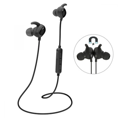 Wireless Bluetooth HD Stereo Noise Cancelling Headset with Mic Sports Magnetic