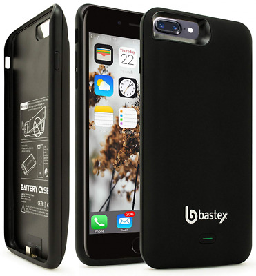 7500mAh Hard Plastic Rechargeable Apple Battery Charging Case, Durable Rugged US