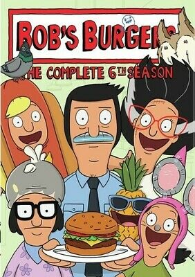 Bob's Burgers: Complete 6th Season - 3 DISC SET (REGION 1 DVD New)