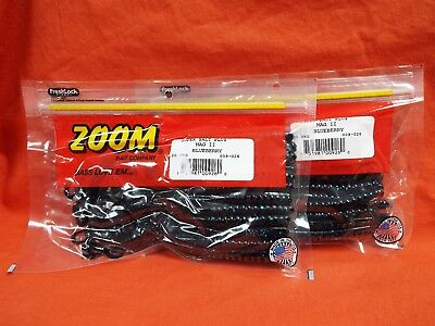 ZOOM Mag II Worm (20cnt) #009-026 Blueberry (2 PCKS)