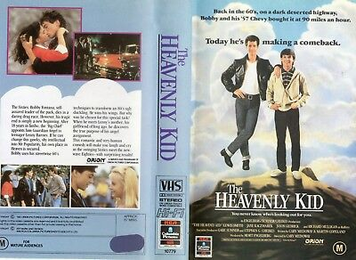 THE HEAVENLY KID - Lewis Smith -VHS -PAL -NEW -Never played!-Original Oz release
