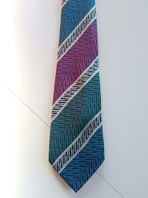MISSONI  cravatta tie SETA SILK  ORIGINALE  MADE IN ITALY vintage