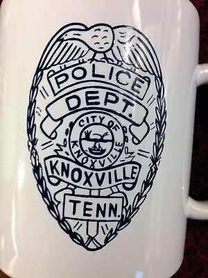Knoxville Police Department/ROCIC Conference Coffee Cup