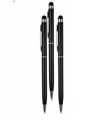 3x Universal Touch Screen Stylus Ball Pens For All Mobile Phone Tab Tablet pro