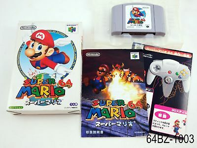 Complete Super Mario 64 Nintendo 64 Japanese Import Boxed N64 Japan US Seller B