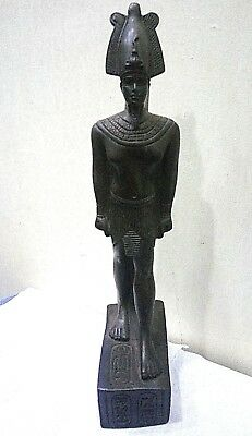 RARE ANCIENT EGYPTIAN ANTIQUE OSORKON II Statue Stone 872-837 BC