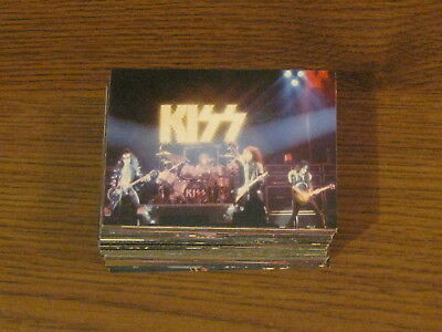 KISS ALIVE Neca Trading Card Set  Complete Set 72 Cards