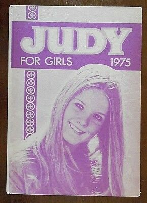 Vintage, Judy for Girls Annual 1975, Printed & Published by D. C. Thomson & Co L