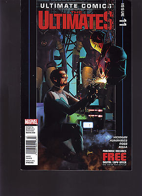 Marvel Comics Ultimate Comics The Ultimates #11 Newsstand Variant Edition