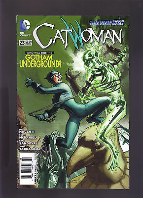 Dc Comics The New 52! Catwoman #23 Newsstand Variant Edition Jokers Daughter
