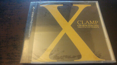 Clamp X  CHARACTER FILE  SOUNDTRACK CD