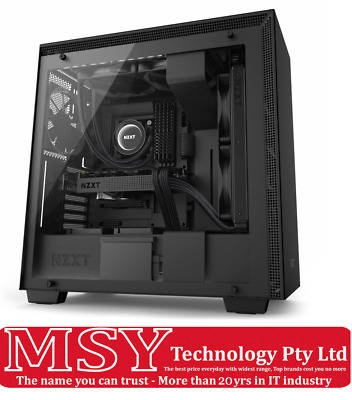 NZXT H700i (CA-H700W-BB) Black Mid Tower Gaming Case