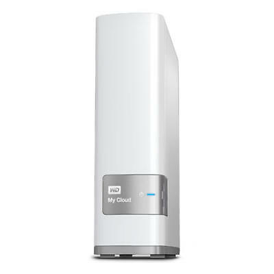 WD My Cloud 8TB WDBCTL0080HWT-AESN Personal Cloud Network Attached Storage