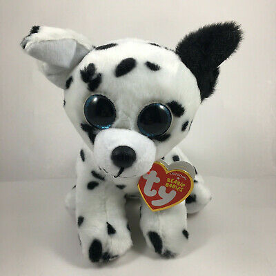 "Set of 2 TY Beanie Baby 6/"" CATCHER /& HARPER the Dog Plush w// MWMT/'s Heart Tags"