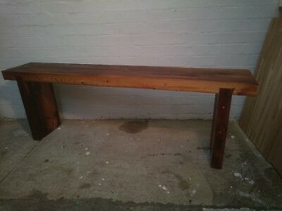 Victorian pitch Pine Reclaimed Wooden Bench 3 SIZES