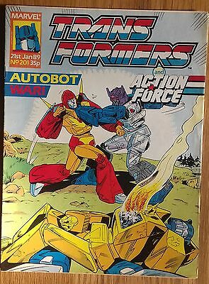 Transformers UK Comic Issue 201