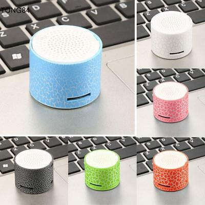 Luminous Lights Rechargeable Wireless Bluetooth Super Bass Portable Speaker new
