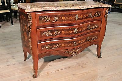 Antique dresser dresser french inlaid blossom wood rosewood Napoleon III