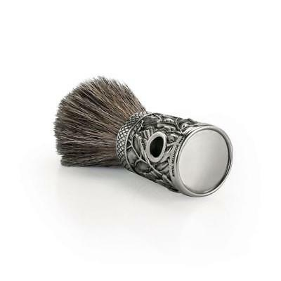 Royal Selangor Pewter Woodland Shaving Brush Boxed - Perfect Mens Gift