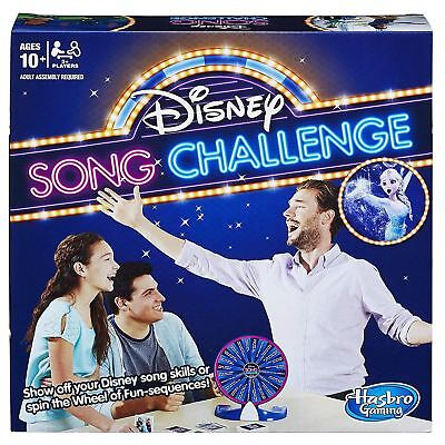 Hasbro Disney Song Challenge Family Board Game