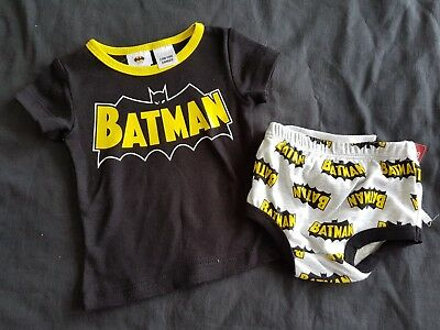 Boys new BATMAN pj set size 000