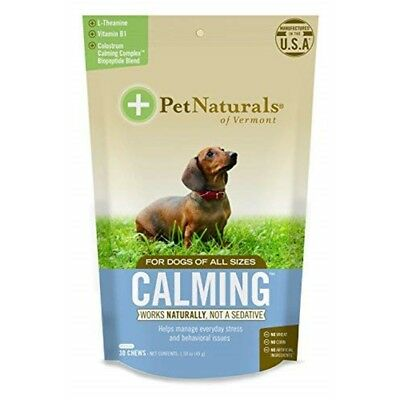Calming For Dogs, Natural Behavior Support Formula, 30 Bite Sized Chews - Dogs