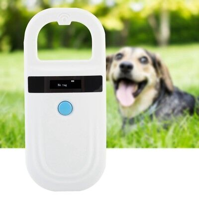 RFID Animal Chip Dog Reader Microchip Handheld Pet Scanner 134.2kHz 125kHz USB
