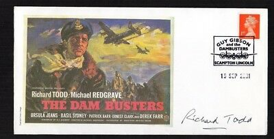 British Film Star Autographs Richard Todd Limited Issue Scampton Lincoln