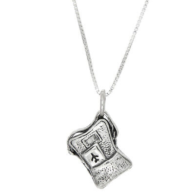 Sterling Silver Three Dimensional Airplane Travel Backpack Necklace -w/ Options