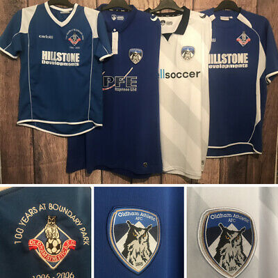 Oldham Athletic Football Shirt, All Sizes, All Seasons, Great