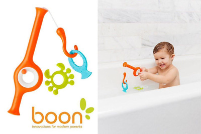 Boon Cast Fishing Rod Bath Toy for 18 months+ Boon Cast Fishing Pole Bath Toy