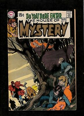 House Of Mystery #187 1970 Dc Comics  Neal Adams & Alex Toth  Bronze Age Horror