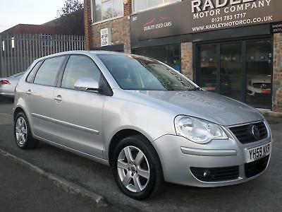2009 Volkswagen Polo 1.4 ( 80ps ) Match 5DR 59 REG Petrol Silver