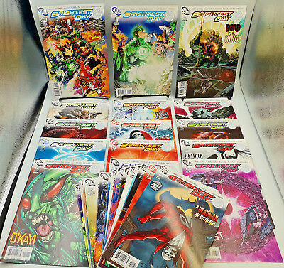 Brightest Day #0 to 24 Complete DC Comics Lot Geoff Johns NM-