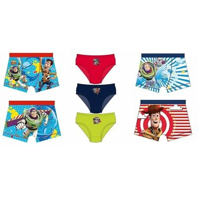 Toy Story Boys 1 Unit Of Boxers Pants Underwear 3-7 Years
