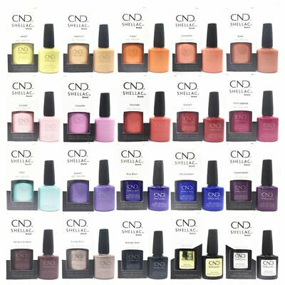 CND Shellac UV Nail Polish TOP 100 Colours, Original Xpress5 Duraforce Base Coat