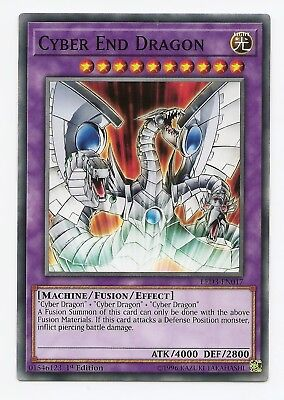 Cyber End Dragon LED3-EN017 Common Yu-Gi-Oh Card English 1st Edition New