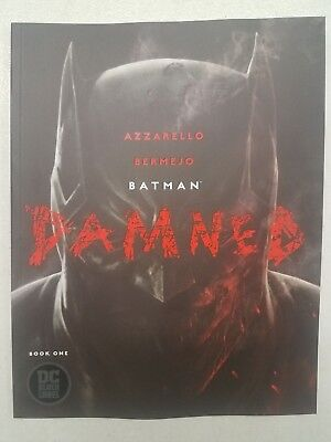 Batman Damned #1 Uncensored First Print Cover A - Multiple Copies Available