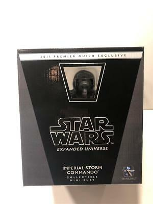 Star Wars Gentle Giant IMPERIAL STORM COMMANDO Mini Bust