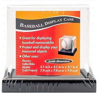Baseballdisply-fall Schwarz - Baseball Acrylic Display Case Xxblack