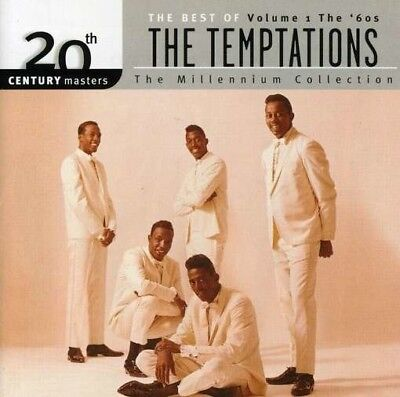 The Temptations The Best of Vol 1 20th Century Masters Audio CD NEW